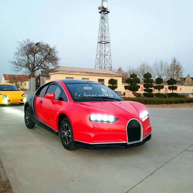 "Bugatti Chiron, Lamborghini, Audi ""nhái"" giá rẻ chỉ 100 triệu đồng. - 2"