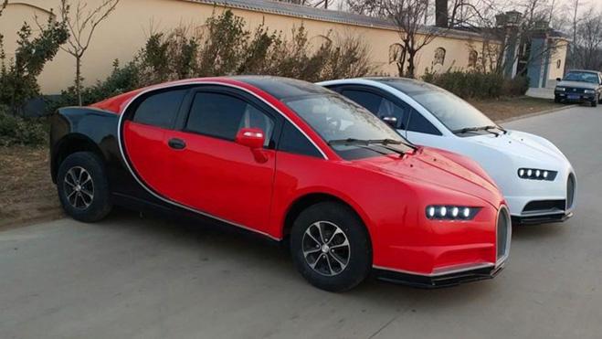 "Bugatti Chiron, Lamborghini, Audi ""nhái"" giá rẻ chỉ 100 triệu đồng. - 1"