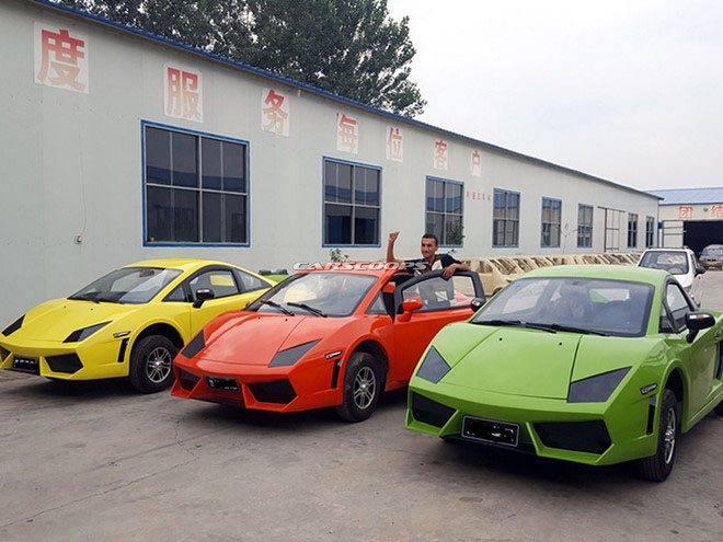 "Bugatti Chiron, Lamborghini, Audi ""nhái"" giá rẻ chỉ 100 triệu đồng. - 4"