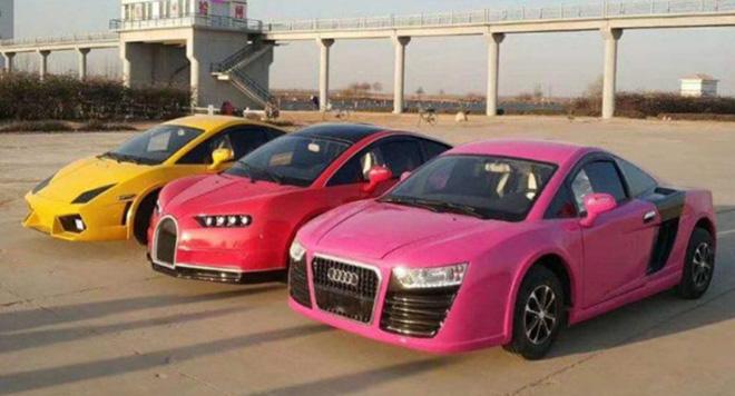 "Bugatti Chiron, Lamborghini, Audi ""nhái"" giá rẻ chỉ 100 triệu đồng. - 8"