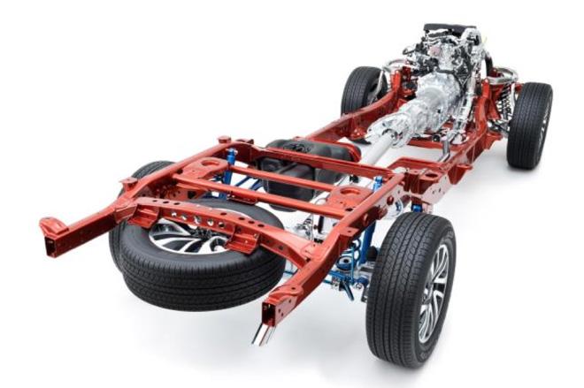 Nissan Navara: khung gầm vững chắc cùng hệ thống treo linh hoạt - 3