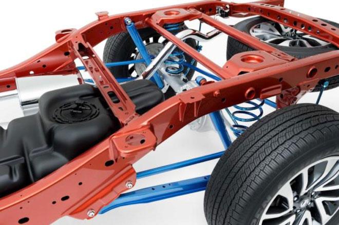 Nissan Navara: khung gầm vững chắc cùng hệ thống treo linh hoạt - 4