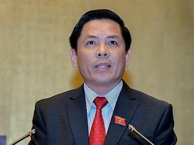 Bộ trưởng GTVT Nguyễn Văn Thể trả lời chất vấn về BOT