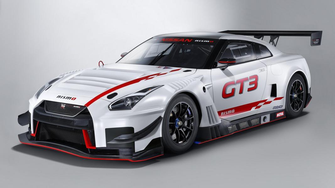 Nissan giới thiệu siêu xe đua đỉnh cao G-TR Nismo GT3 2018