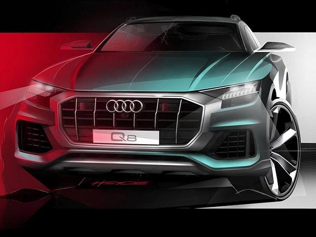 Audi ''nhá hàng'' chiếc Q8 2019 trước ngày ra mắt; thiết kế hầm hố và sắc nét