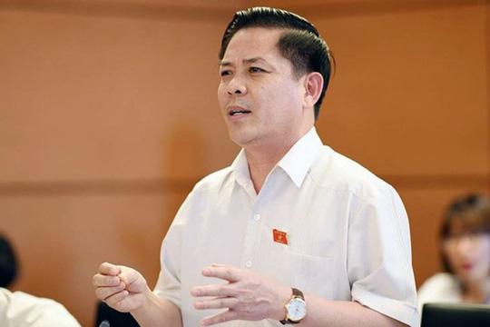 """Bộ trưởng GTVT Nguyễn Văn Thể """"mở hàng"""" chất vấn, """"nóng"""" BOT - 1"""