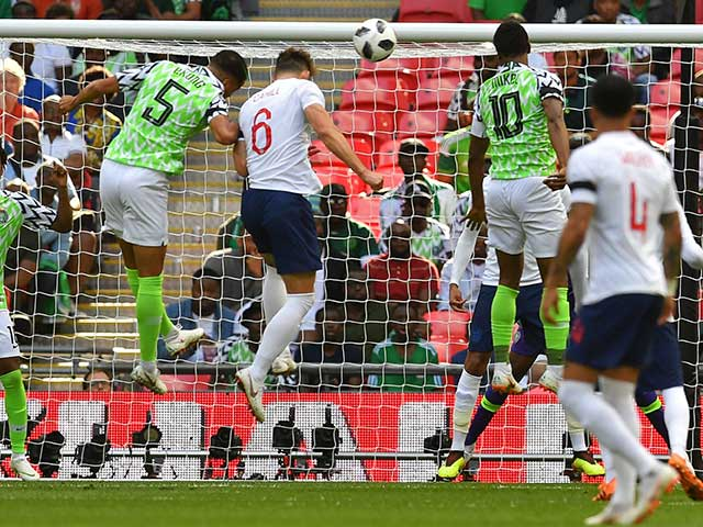 """Anh - Nigeria: """"Hổ báo"""" hiệp 1, sợ hãi hiệp 2"""