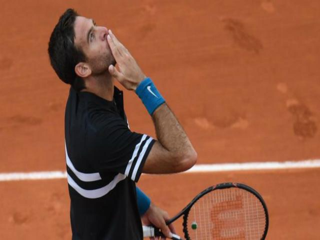 Del Potro - John Isner: 3 set như 1, nghẹt thở phút cuối (V4 Roland Garros)