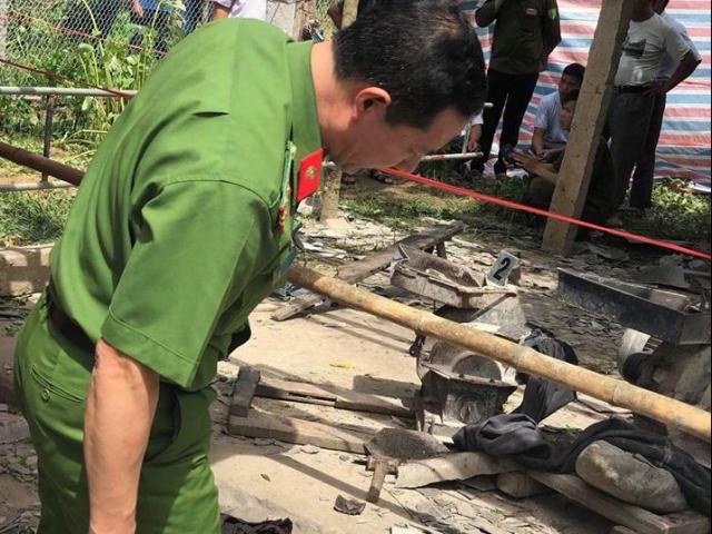 Hé lộ nguyên nhân vụ máy xát nổ như bom khiến 2 người tử vong