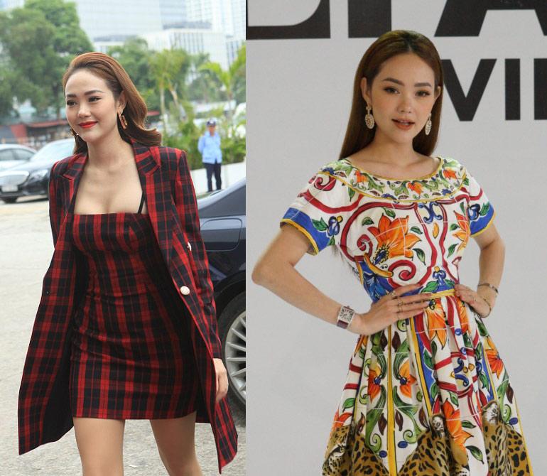 Minh Hằng nổi bật với đầm Dolce Gabbana 45 triệu đồng ở The Face - 1