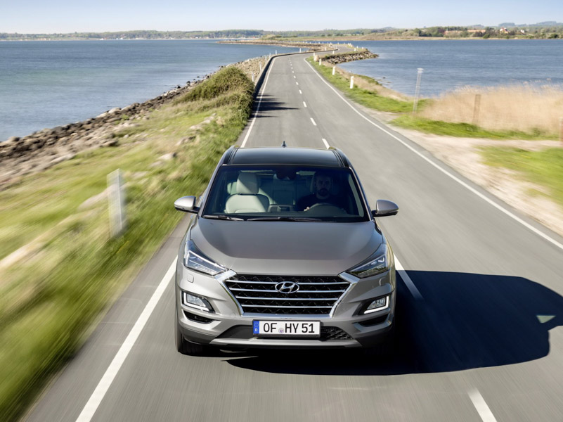 Hyundai Tucson 2019 đã có phiên bản máy dầu mạnh mẽ và tiết kiệm - 1