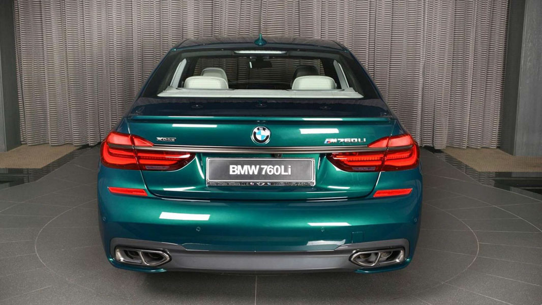 Ngắm BMW M760Li ''hàng thửa'' cho đại gia tại Abu Dhabi - 3