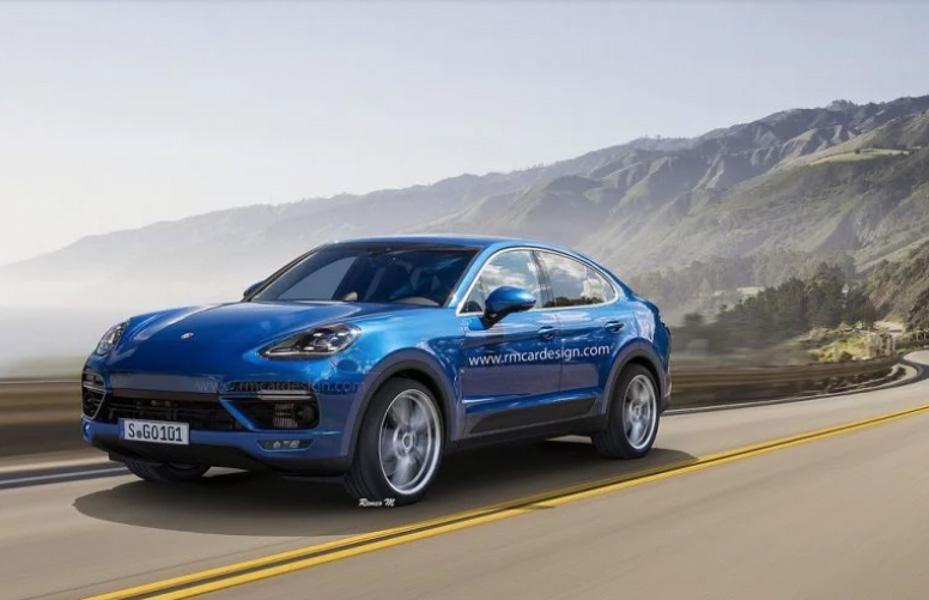 Porsche sẽ sản xuất Cayenne Coupe cạnh tranh với BMW X6 - 1