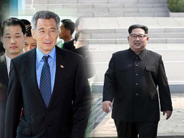 Thủ tướng Lý Hiển Long tuyên bố bất ngờ trước giờ gặp Kim Jong-un