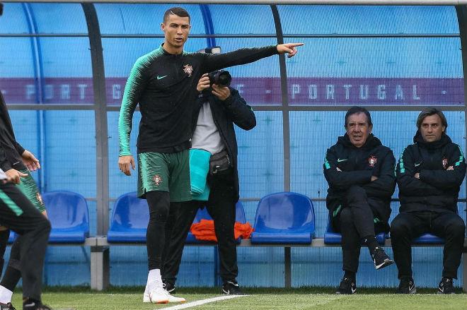 Ronaldo tập cật lực đấu SAO Real-Barca, hé lộ tương lai hậu World Cup - 1