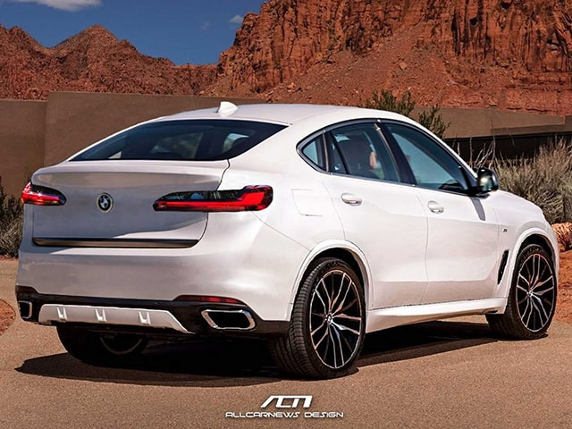 BMW X6 thế hệ mới trông như thế nào khi lấy cảm hứng từ BMW X5 2019?