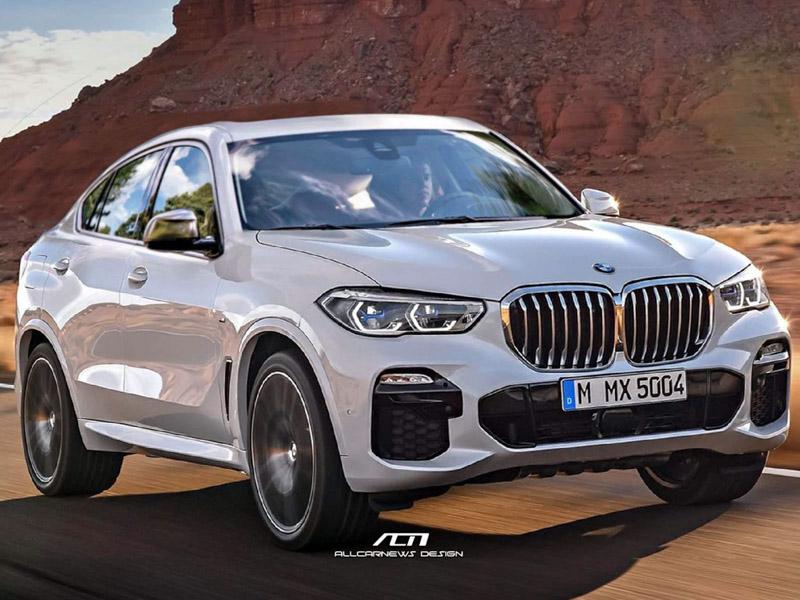 BMW X6 thế hệ mới trông như thế nào khi lấy cảm hứng từ BMW X5 2019? - 5