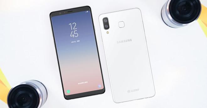 Galaxy A8 Star có camera sau kép, giá 10,7 triệu đồng - 1