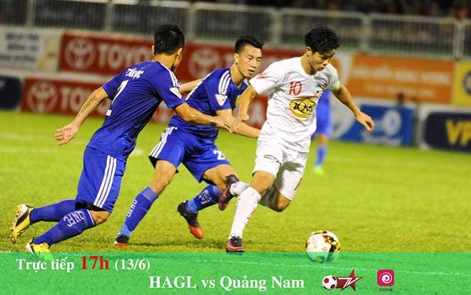 """Vòng 13 V-League: HAGL - Quảng Nam, đại chiến """"phố núi"""" - 1"""