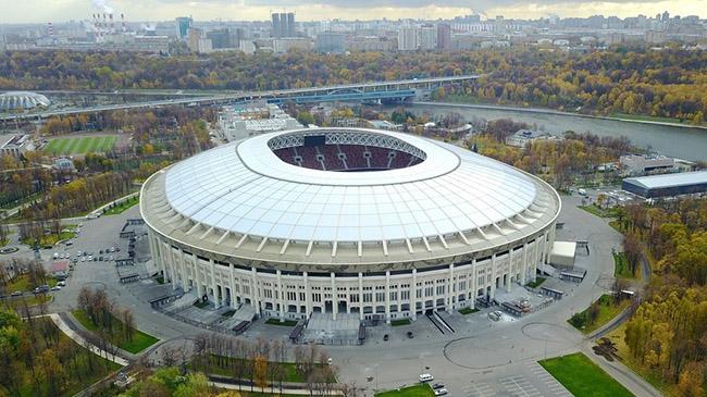 Chiêm ngưỡng độ hoành tráng của sân vận động nơi diễn ra lễ khai mạc World Cup 2018 - 1