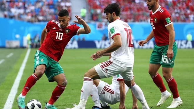 Morocco - Iran: Bất ngờ phút cuối, phản lưới nghiệt ngã (World Cup 2018) - 1
