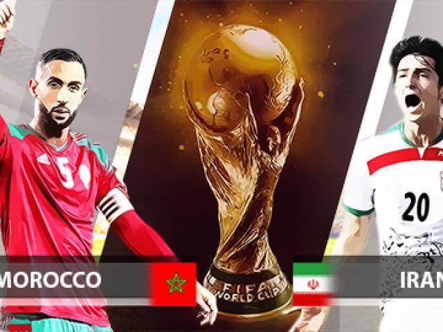 Trực tiếp bóng đá World Cup Morocco - Iran: Morocco áp đảo, Iran vất vả chống đỡ