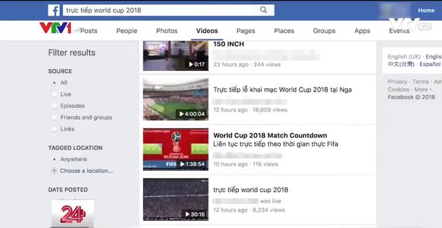 VTV đã xử lý bao nhiêu trường hợp vi phạm bản quyền World Cup 2018? - 1