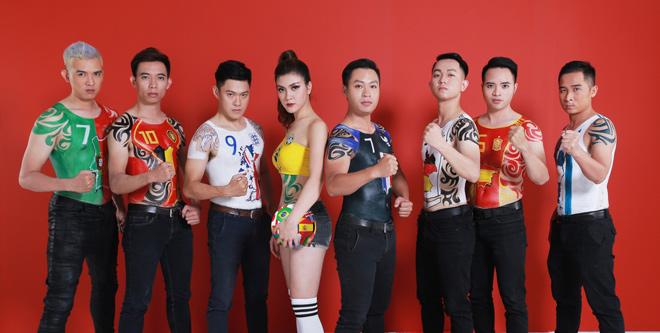 """Bộ ảnh body painting và MV Kachiusa cực chất """"đốt nóng"""" mùa World Cup - 1"""