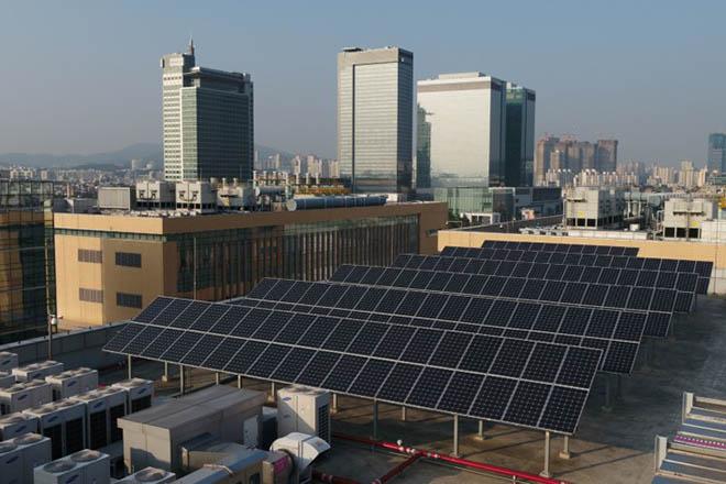 Samsung đặt mục tiêu sử dụng 100% năng lượng tái tạo vào năm 2020 - 1