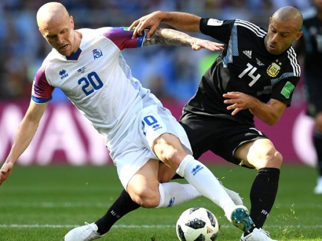 Chi tiết World Cup Argentina - Iceland: Dốc toàn lực tấn công cuối trận (KT)