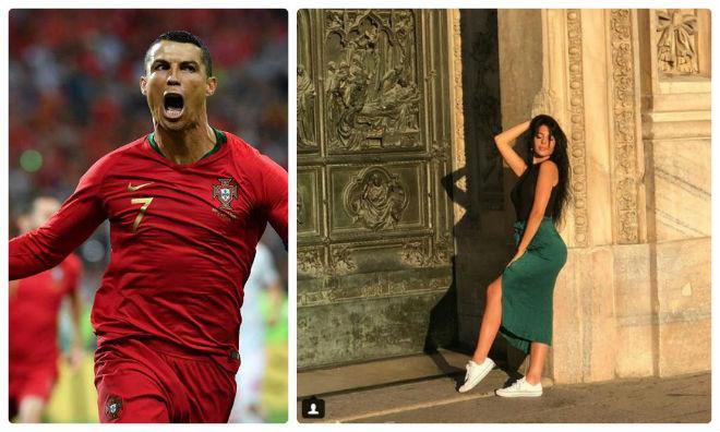 Ronaldo lập hat-trick lịch sử World Cup, bạn gái hot girl ở đâu? - 1