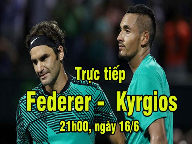 Chi tiết Federer - Kyrgios: Sức trẻ đấu kinh nghiệm (Bán kết Stuttgart Open) (KT)
