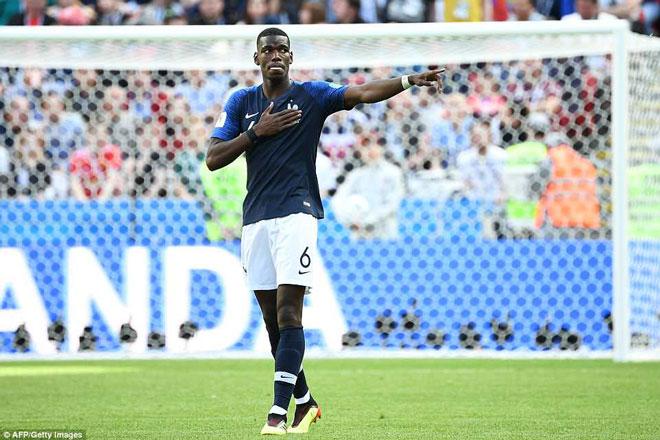 """""""Đấng cứu thế"""" Pogba rực sáng, gánh cả tuyển Pháp trên vai - 1"""