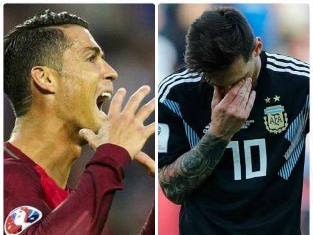 """Kinh ngạc: Ronaldo, Messi cùng vô hại trước """"hạt tiêu"""" Iceland"""