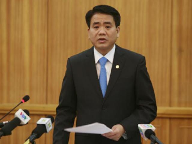 Chủ tịch Hà Nội Nguyễn Đức Chung: Bắt 2 đối tượng rải truyền đơn
