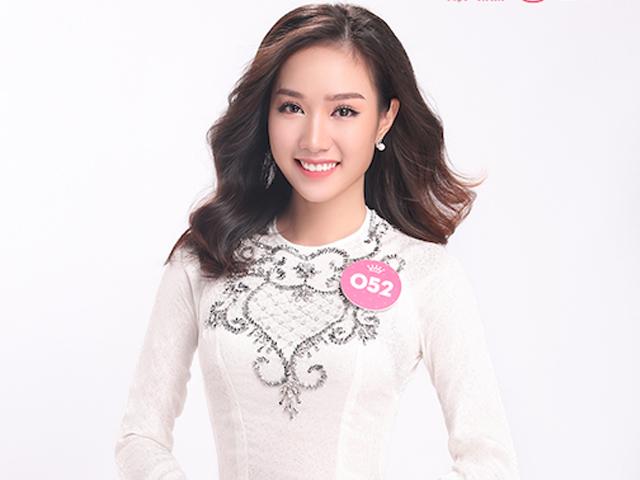 Nhan sắc vừa qua tuổi trăng tròn của thí sinh Hoa hậu Việt Nam