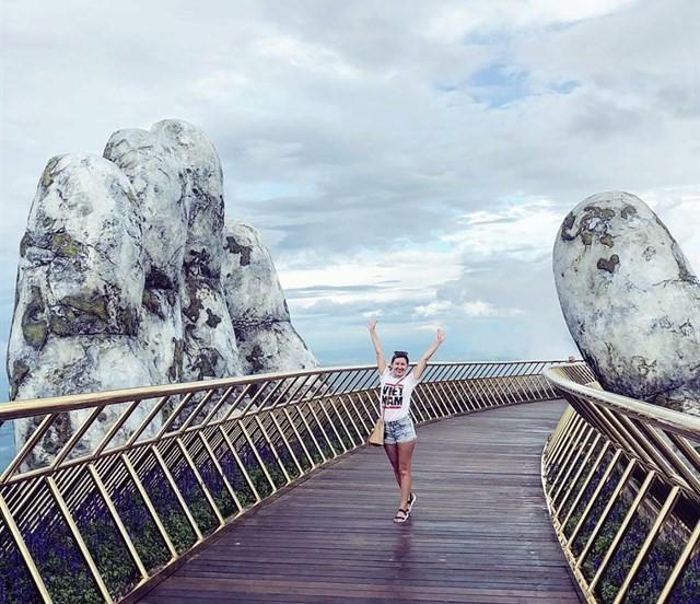 Cầu Vàng - Dải lụa bồng bềnh giữa mây trời Đà Nẵng - 8