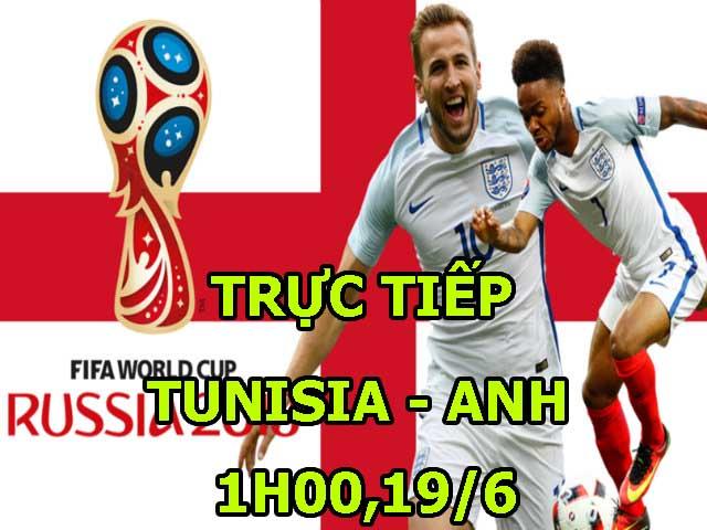"""Trực tiếp bóng đá World Cup Tunisia – Anh: """"Sư tử"""" gầm thét, Harry Kane quyết khai hỏa"""