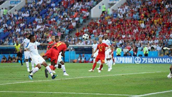 Bỉ hạ Panama: Hazard và De Bruyne tặng quà, Lukaku 7 phút ăn cú đúp - 1