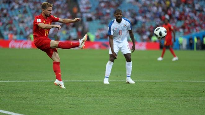 """Tuyệt phẩm World Cup: Sao Bỉ vẽ cầu vồng, đập tan """"xe bus"""" Panama - 1"""