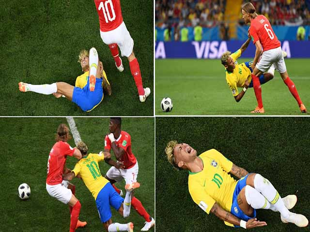 Đại họa Brazil: Neymar tái phát chấn thương, ác mộng World Cup 2014 hiện về