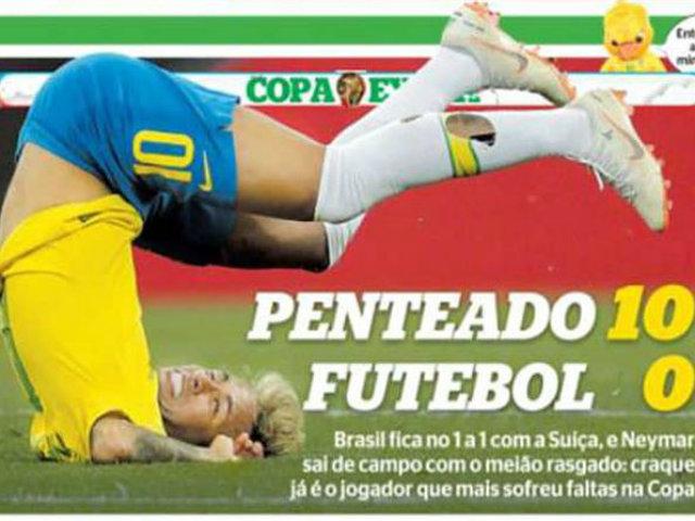 Truyền thông Brazil bất ngờ chỉ trích Neymar thậm tệ - 1