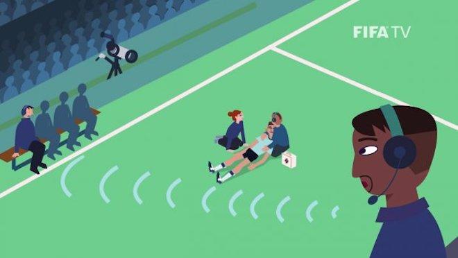 Bí ẩn công nghệ đặc biệt theo dõi đường chạy các cầu thủ tại World Cup 2018 - 1
