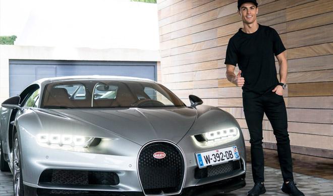 Bộ sưu tập siêu xe của các ngôi sao bóng đá tại World Cup 2018 - 1