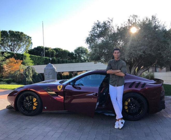 Bộ sưu tập siêu xe của các ngôi sao bóng đá tại World Cup 2018 - 3
