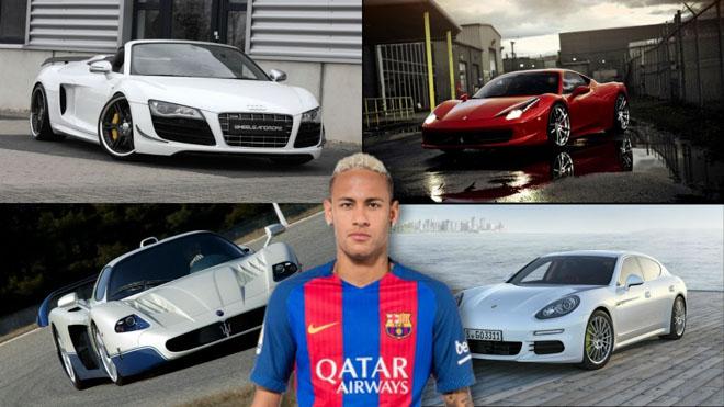 Bộ sưu tập siêu xe của các ngôi sao bóng đá tại World Cup 2018 - 7