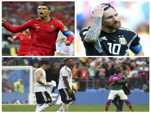 """World Cup 2018: Ronaldo xứng danh """"ông trùm"""", đại gia khiếp vía """"nhược tiểu"""""""