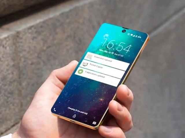 Galaxy S10 sẽ có thiết kế đẹp mê ly như thế này