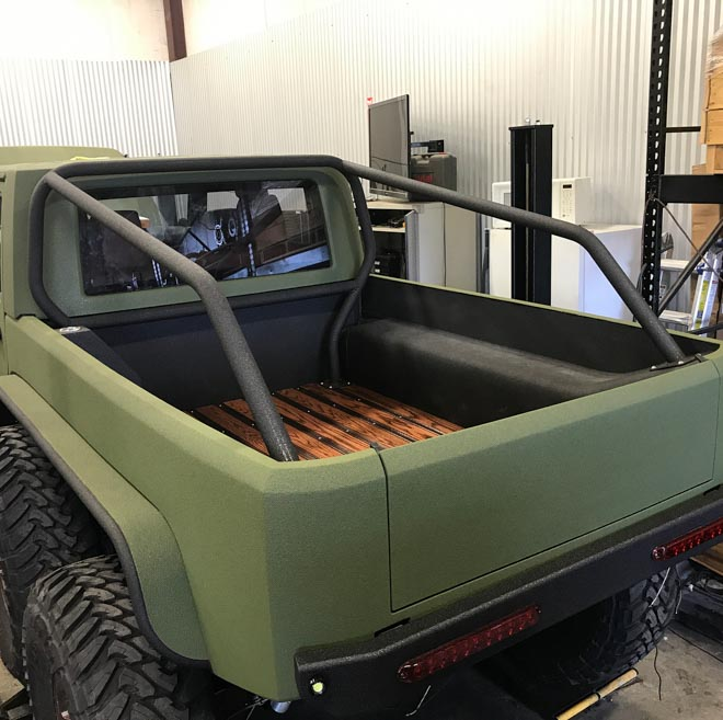 """SUV Jeep Wrangler """"biến hình"""" với bản độ 6 bánh - 3"""