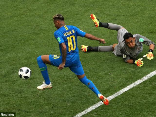 Góc chiến thuật Brazil – Costa Rica: Neymar thu mình, 2 anh hùng giấu mặt